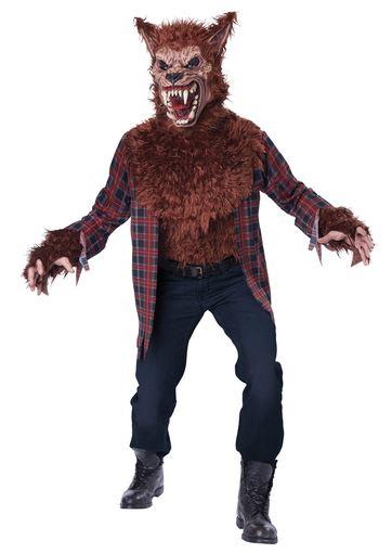 disfraz halloween hombre lobo