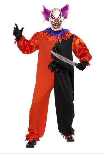 disfraz halloween payaso espeluznante