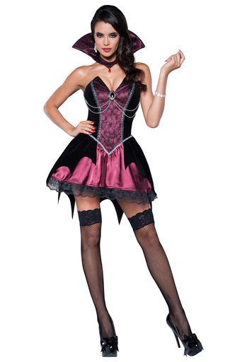 disfraz halloween vampiresa sugerente