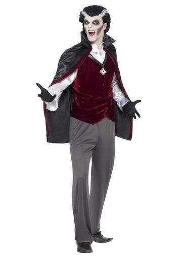 disfraz halloween vampiro terciopelo