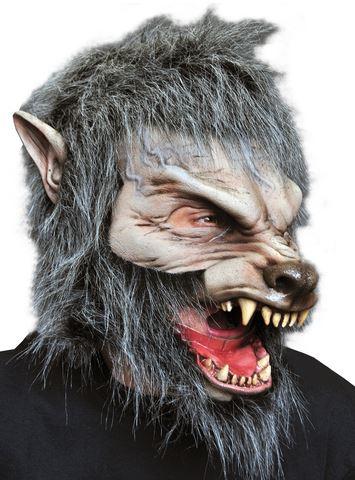 mascara halloween hombre lobo