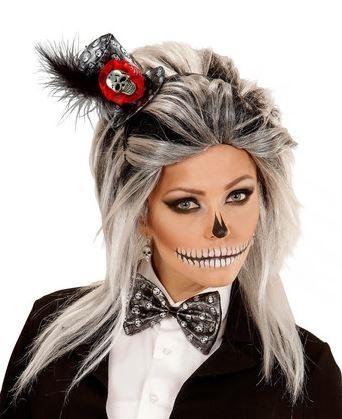 diadema pajarita halloween
