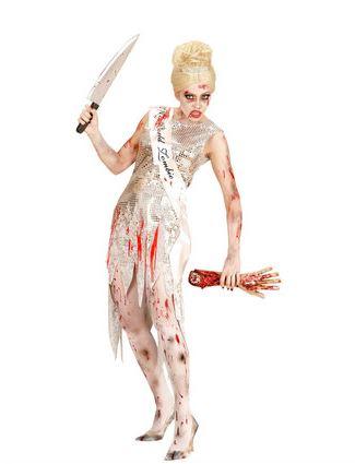 disfraz halloween miss mundo zombie