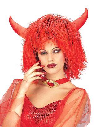 peluca maxi infierno halloween