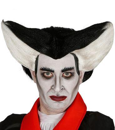 peluca vampiro halloween