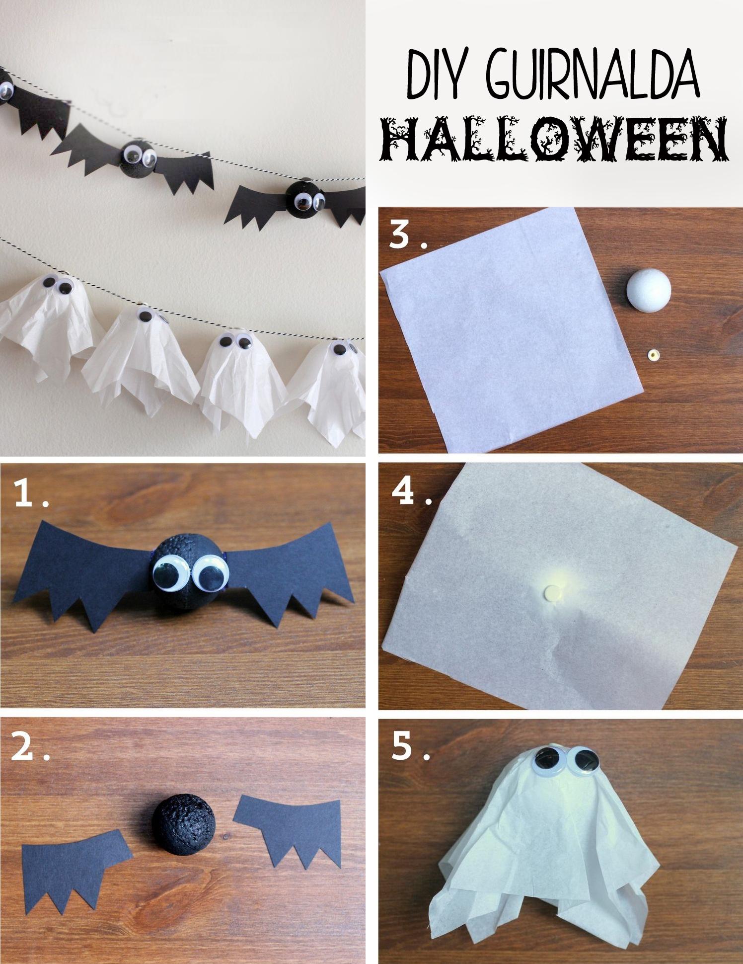 5 ideas de decoracion caseras para halloween - Decoracion halloween casera ...