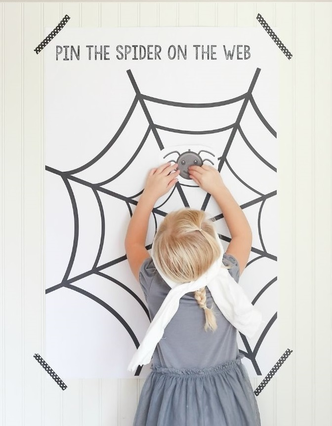 juego halloween araña