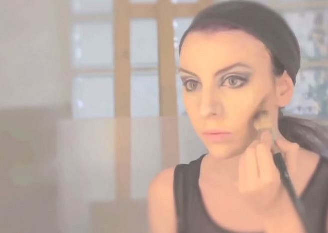 maquillaje malefica