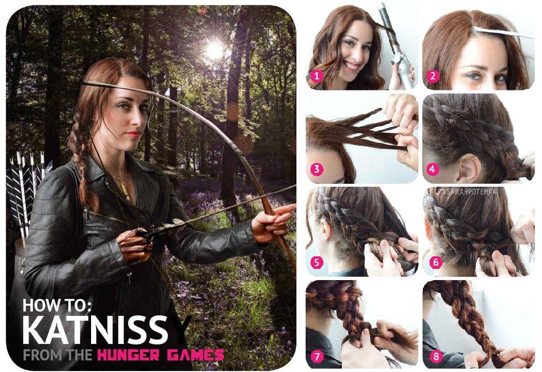peinado DIY Katniss