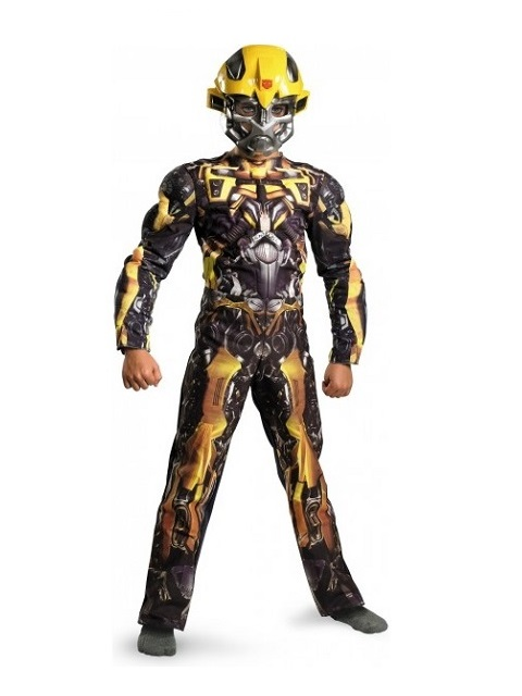 disfraz transformers-bumblebee-musculoso-infantil