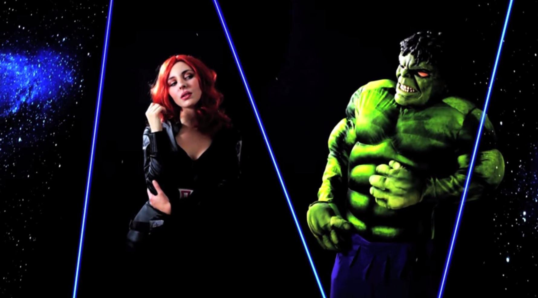 Cmo disfrazarse de Viuda Negra y Hulk Los Vengadores