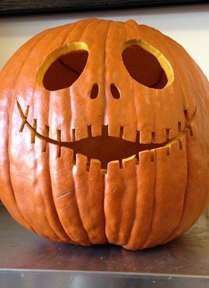 calabaza decorada halloween