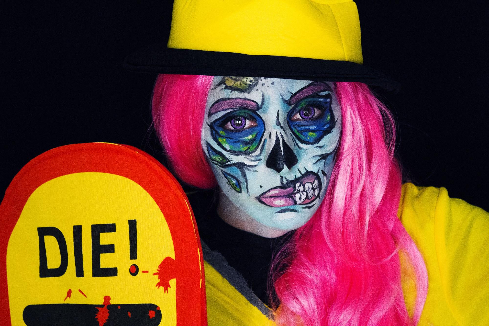 Pop Art Zombie (1)