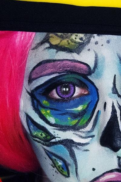 lentillas zombie Pop Art (2)