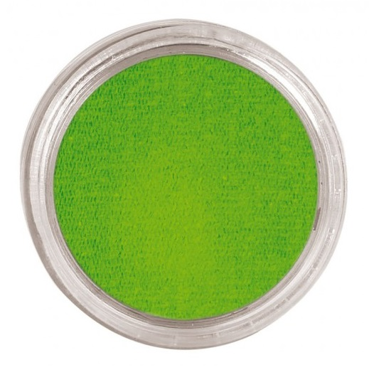 maquillaje-al-agua-color-verde-claro