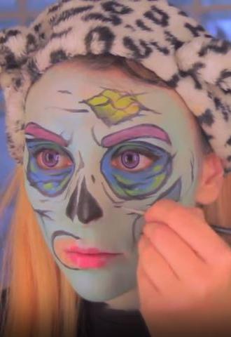 sara zombie pop art 6