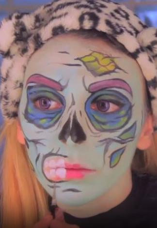 sara zombie pop art 7