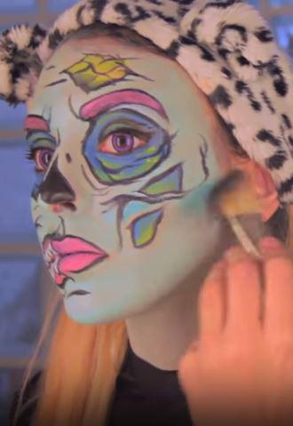 sara zombie pop art 9