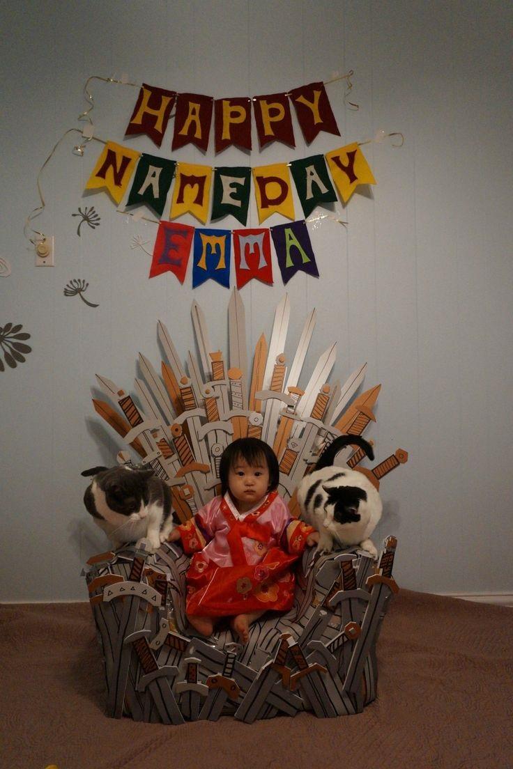 trono casero juego de tronos