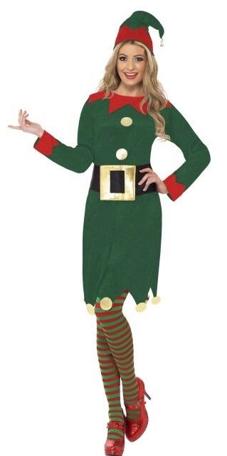 disfraz-de-elfa-verde