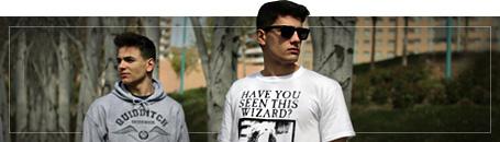 Nörttimäiset T-paidat miehille