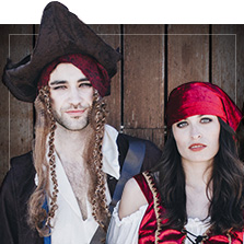 Pirater kostumer