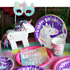 Great Ideas For Birthday Party Decorations Unicorn