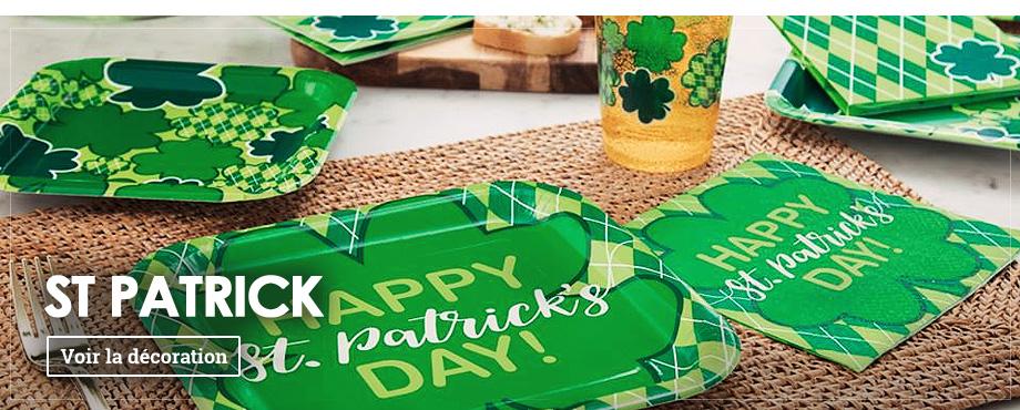 Décoration de St. Patrick
