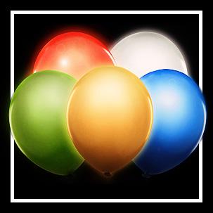 Baloane cu led
