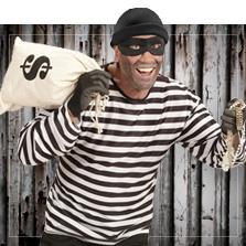 Ladrones y presos