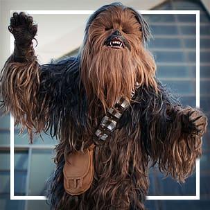 Chewbacca dräkter
