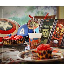 Superhelte Fødselsdag