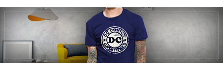 T-shirts DC Comics