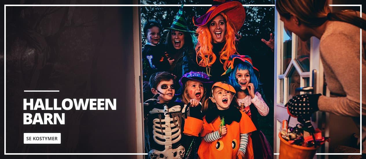 Halloween kostymer til barn