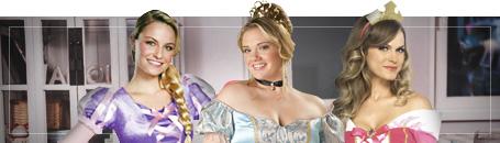 Disney Prinzessinnen Kostüme für Damen