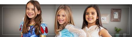 Disney Prinzessinnen Kostüme für Mädchen