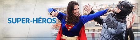 Déguisements de Super-Héros et Méchants