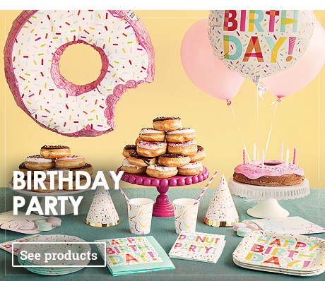 Birthday Party And Themed Parties Decorations 48h Delivery