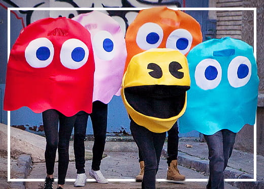 Pac-Man© Kostymer