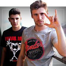 Band T-skjorter
