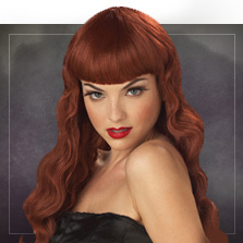 Red-haired wigs