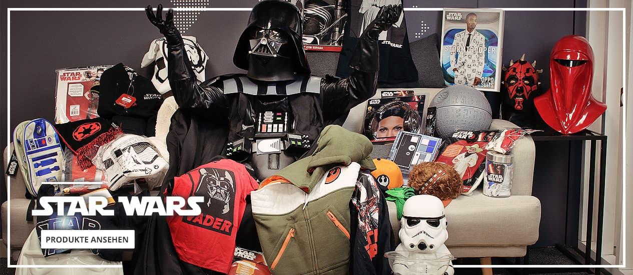 Star Wars Kostüme, Dekoration und Fanartikel
