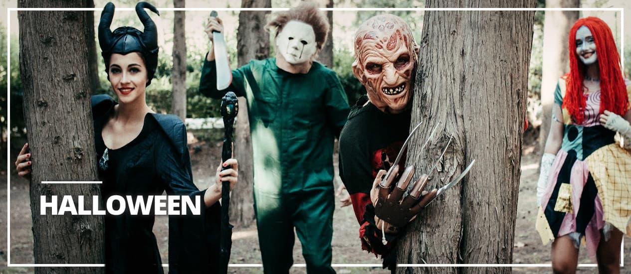 Halloweenkläder för vuxna