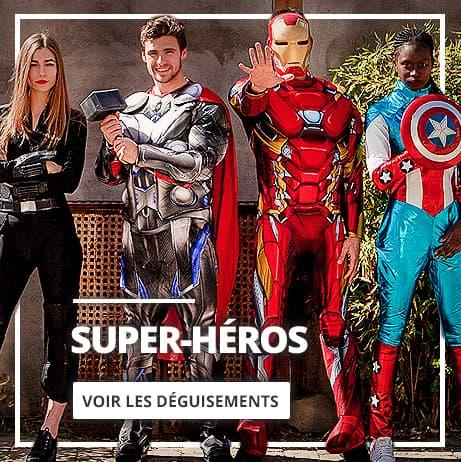 Déguisements de Super-Héros & Méchants