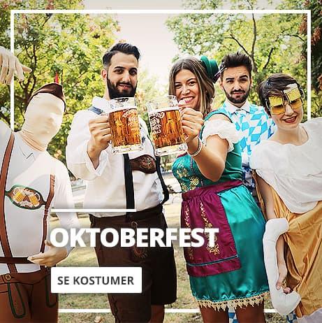 Oktoberfest kostumer: tyroler og bayersk tøj