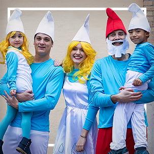 Smurfs© costumes