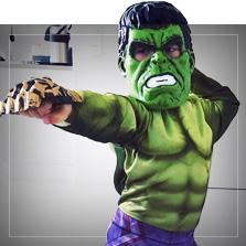 Costumi Hulk