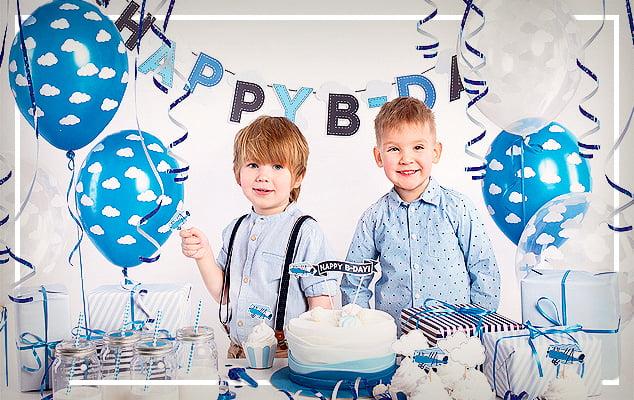 Verjaardagsdecoratie voor Jongens