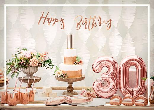 Geburtstagsdeko für Erwachsene
