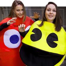 Kostýmy Pac-Man